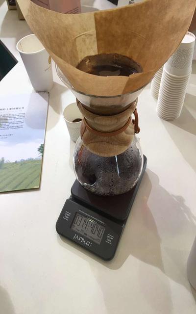 coffee valve 3 minutes make coffee
