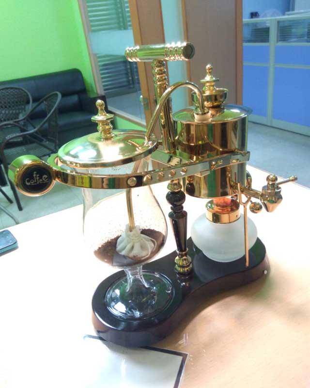Coffee Valve Belgium Coffee Maker