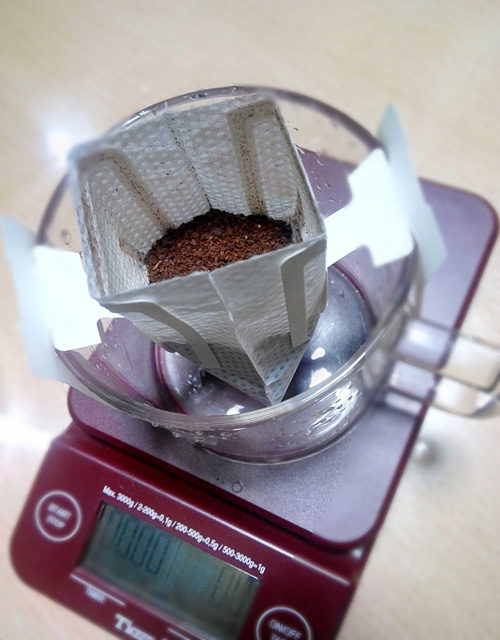 coffee valve drip bag coffee